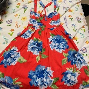 Abercrombie Coral Sundress